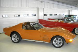 STUNNING 1-FAMILY OWNED MATCHING NUMBERS 4-SPEED1971 CORVETTE STINGRAY FRAME OFF