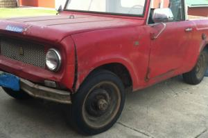 1960 or 1961 International Scout