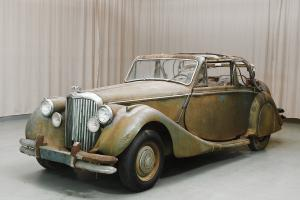 Rare LHD 1950 Jaguar MKV Drophead for restoration, NO RESERVE, from Hyman Ltd.
