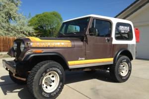 1981 Jeep CJ7 Renegade Sport Utility 2-Door 4.2L
