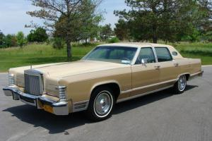 1978 Lincoln Williamsburg Limited Edition Continental LCOC National WINNER 57k
