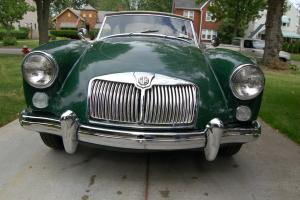 1961 MGA BARN FIND SPOKE WHEEL NUMBERS MATCHING CAR NEVER SAW A WINTER