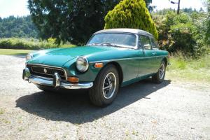 1971 MG MGB OVERDRIVE, BIG VALVE PORTED & POLISHED HEAD, REBUILT ENGINE, HARDTOP