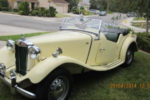 1953 MG TD Base 1.3L Photo