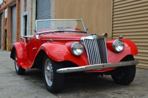 1955 Convertible Used 4-Speed Manual Red Photo