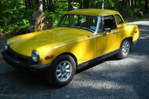 1979 MG Midget with under 32,000 Miles!