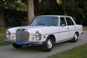 1967 Mercedes 250SE - One owner CA car - Amazing Survivor - 4 spd on the floor!
