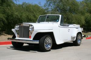 1949 Willys Jeepster Rebuilt 350 V8 with turbo 350 auto trans!