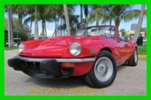 1975 TRIUMPH SPITFIRE GT-6 CONVERTIBLE NO RESERVE BOOT COVERS STRAIGHT 6 RARE Photo