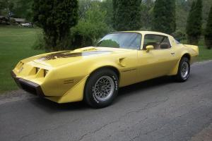 1979 Pontiac Trans Am WS6 RARE Factory YELLOW! Only 93K miles!