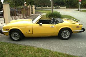 1974 TRIUMPH SPITFIRE IN VERY GOOD CONDITION