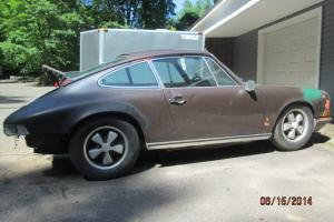 1971 Porsche 911E Coupe. Barn Fresh. Low miles. Numbers match.