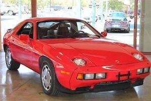 1984 Porsche 928S 2 owner California 928  Only 43000 impeccably serviced miles
