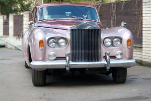 Rolls-Royce Silver Cloud III,1965,4 door sedan,pink-cherry,red