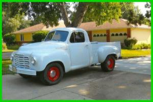 1949 Studebaker Pickup 305 Chevy engine A/C only 200 miles since rebuild RARE