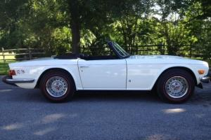 1976 Triumph TR6 40,650 Documented Miles - Original and Unrestored Photo