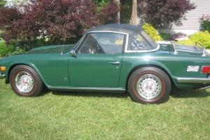 1975 Triumph TR6 British Racing Green Photo