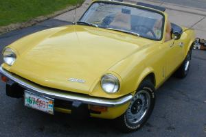 1973 Triumph Spitfire Base 1.5L Photo