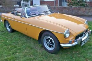 1973 MG/ MGF MGB Sports/Convertible 1800cc Petrol  Photo