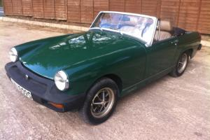 MG MIDGET 1500 TWIN CARB - RESTORED EXAMPLE - NEW MOT  Photo