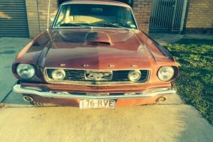Ford Mustang 1966 2D Hardtop 3 SP Automatic 4 7L Carb Seats in North Albury, NSW