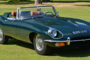 1968 Jaguar E type Series 2 Roadster Left Hand Drive. Photo
