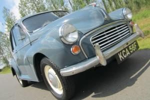 "1967 MORRIS MINOR ""MILLIE"" 1000 SALOON *** GREAT INVESTMENT OPPORTUNITY ***"