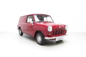 A Marvellous Morris Mini 850 Light Van Known by Every Owner from New
