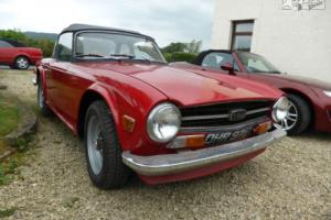 Triumph TR6 1973 Photo