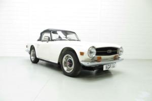 A Very Early UK Triumph TR6 PI with CP25926 Chassis Number