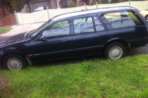 Ford Falcon Futura 1996 4D Wagon 4 SP Automatic 4L Multi Point F INJ in Moorabbin, VIC Photo