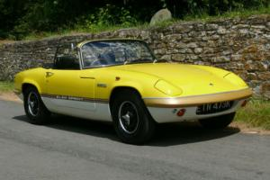 1971 Lotus Elan Sprint DHC - Totally Restored & in Superb Condition Photo