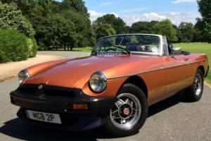 1981 MGB LE ROADSTER - LIMITED EDITION - BEAUTIFUL CONDITION Photo