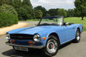 1974 Triumph TR6 2.5 ROADSTER - EXCELLENT CONDITION THROUGHOUT Photo