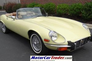E-type XKE V12 Roadster