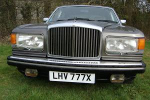 1982 BENTLEY IN METALIC DARK OYSTER TAXED MOTED A FINE OLD LADY