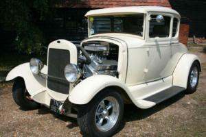 Ford Model A Coupe Hot Rod V8 Blown 454,All Steel, Pro Built,Air Con. !!!!