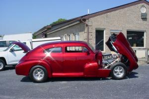 CHOPPED, DROPPED, POWER HOOD & TRUNK! AIR COND!CHEVY V8