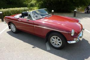 MGB ROADSTER 1978 - RESTORATION & CHROME BUMPER CONVERSION COMP 2014