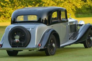 1934 Rolls-Royce Phantom II Sports Saloon with division.