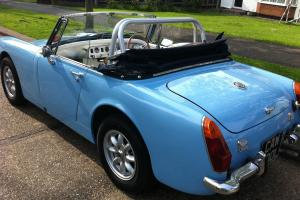 Mg Midget , Full restoration 2 years ago, tax exempt