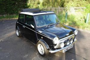 2001 Rover Mini Cooper Classic in Black with Full Sunroof- 51 reg and low miles!