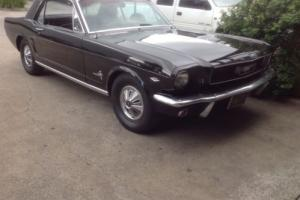Ford Mustang 1966 2D Hardtop 3 SP Automatic