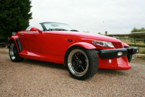 Plymouth Prowler Factory Hot Rod.Rare in Red,Concourse Condition.6,000 mls. Photo