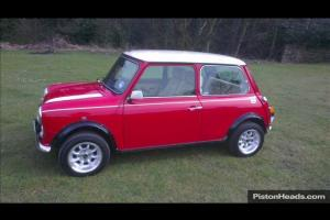 Rover Mini Cooper saloon Red eBay Motors #171041175848