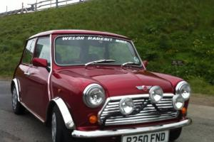 1996 ROVER MINI MAYFAIR RED