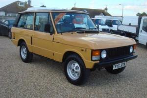 1980 ROVER RANGE ROVER 3.5 Manual 4X4
