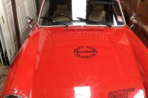 1977 Triumph Spitfire 1500 with Overdrive