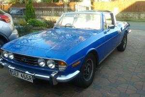 1977 Triumph Stag 3.0 V8 Manual Over-drive Tahiti Blue  Photo