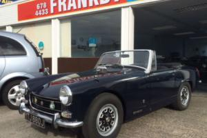 Austin Healy SPRITE 1298cc convertible, MG , Rare to find !